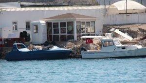 Bodrum'da göçmen teknesi battı