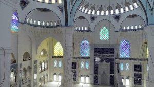 Çamlıca Camii inşaatında son durum havadan görüntülendi