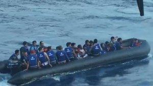 Çanakkale'de 41 göçmen yakalandı