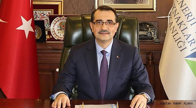 Enerji ve Tabii Kaynaklar Bakanı Fatih Dönmez,