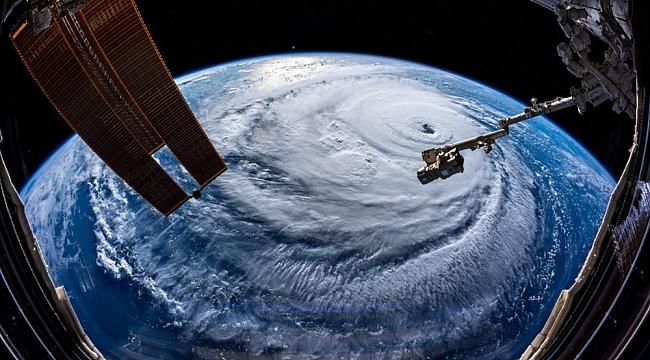 Florence Kasırgası uzaydan görüntülendi
