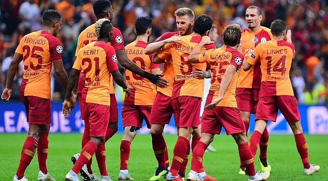 Galatasaray, Şampiyonlar Ligi'ne 3 yıl sonra 3 puanla döndü