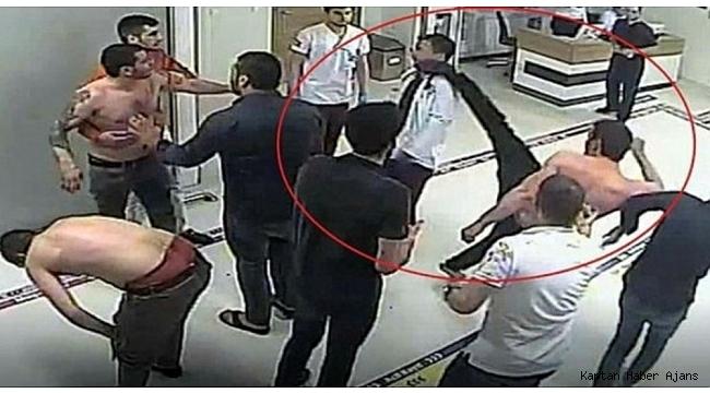 Hastanede doktora uçan tekme atan şahıs yeniden tutuklandı