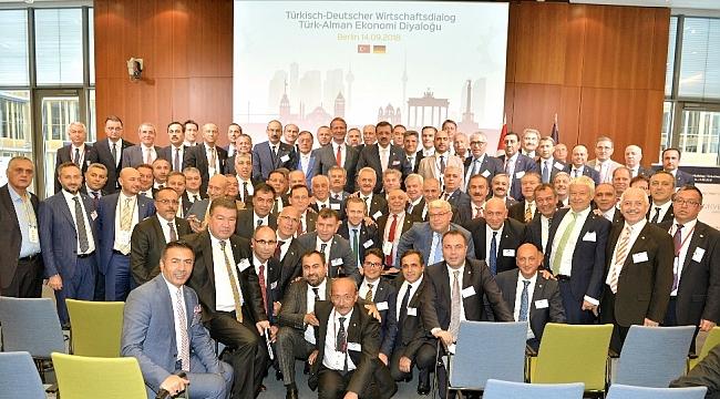 ITSO Başkanı Başdeğirmen, TOBB Başkanı Hisarcıklıoğlu ile Türkiye - Almanya Diyaloğu toplantısına katıldı