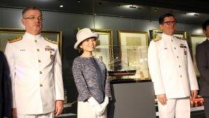 Japon Prensesi'nden Deniz Müzesine savaş gemisi Seiki maketi