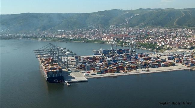 Kocaeli'nin en büyük limanı demiryoluyla da hizmet verecek