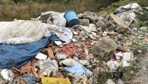 Köylülerden çöp tepkisi