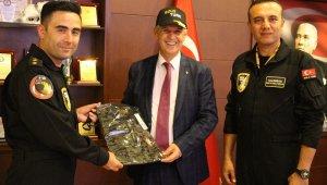 Solotürk'ten Başkan Toyran'a teşekkür