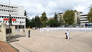 TCG Bayraktar Komutanından Vali Yavuz'a Ziyaret