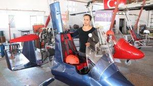 Türkiye'nin ilk yerli ve milli 'gyrocopter'i Mersin'de üretildi