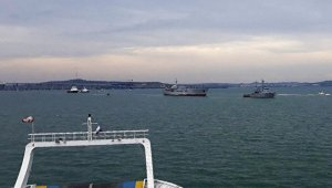 """Ukrayna, """"Rus gemi ve uçakları, gemilerimizi taciz etti"""""""