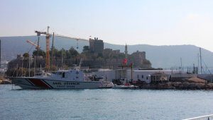 12 mülteci deniz ortasında yakalandı