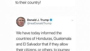 ABD Başkanı Trump, 3 ülkeyi yardımı kesmekle tehdit etti