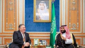 ABD Dışişleri Bakanı Pompeo, Suudi Arabistan Veliaht Prens ile görüştü
