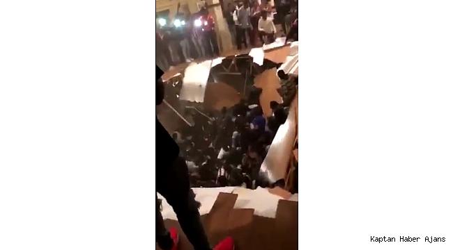 ABD'de apartman dairesinin zemini çöktü: 30 yaralı