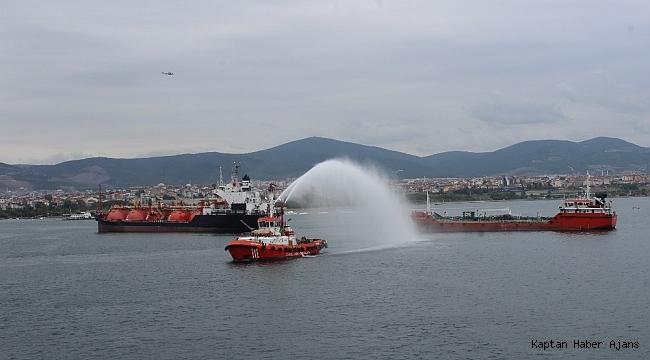 Deniz Kirliliğine Acil Müdahale Tatbikatı nefes kesti