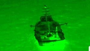 Drone ile trol teknelerine suçüstü