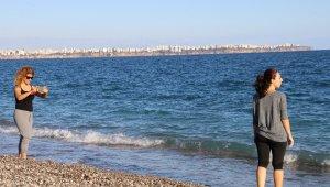 Ekim ayı sonunda Antalya'dan yaz manzaraları