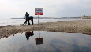 Kızıla boyanan bölgede denize yaklaşmak ve girmek yasaklandı
