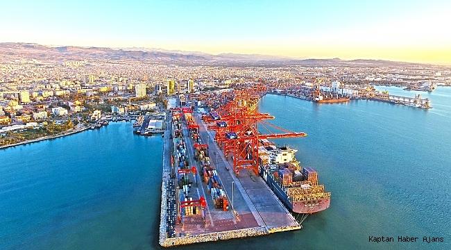 Mersin Limanı Türkiye'nin en büyük konteyner limanı oldu