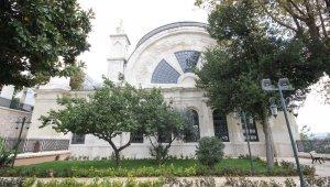 Tarihi Cihangir Camii'nin restorasyon çalışmaları bitti