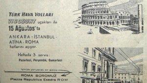 THY 60 yıl sonra Ankara- roma seferlerine başlıyor