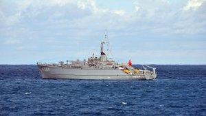 Türk ve Alman gemileri yardım talebine kayıtsız kalmadı