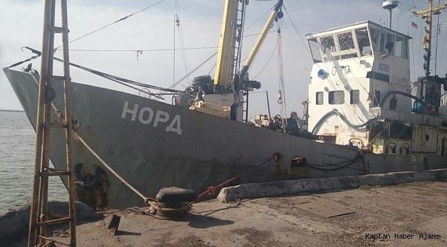 Ukrayna, bağladığı Rusya gemisini teslim etmedi