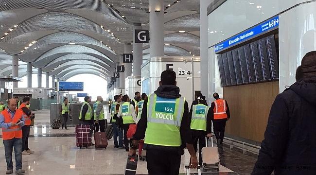 Yeni Havalimanı'nda son deneme yapıldı