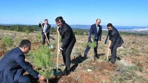 """""""Yeşil Dönüşüm Ormanları Projesi""""nin ilk durağı Çanakkale oldu"""