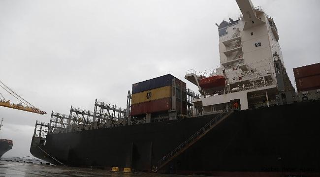 334 metrelik Hindistan bandıralı dev gemi Tekirdağ'da