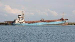 Samsun Limanı'nda bekletilen gemi Aliağa'ya gönderilecek