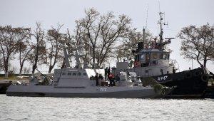 Ukrayna gemileri Rus limanında görüntülendi