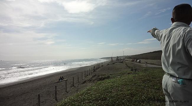 """Japonya'yı bekleyen büyük tehlike: """"Plajlar kaybolabilir"""""""