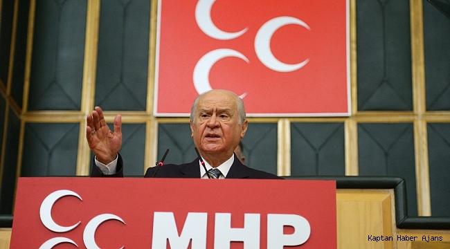 """MHP Lideri Bahçeli: """"Karadeniz'in çatışma girdabına sürüklenmesi bölgesel huzuru dinamitleyecektir"""""""