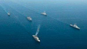 Suudi Arabistan'da 'Kızıl Dalga 1' ortak deniz tatbikatı başladı