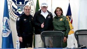 ABD Başkanı Trump, Meksika sınırında