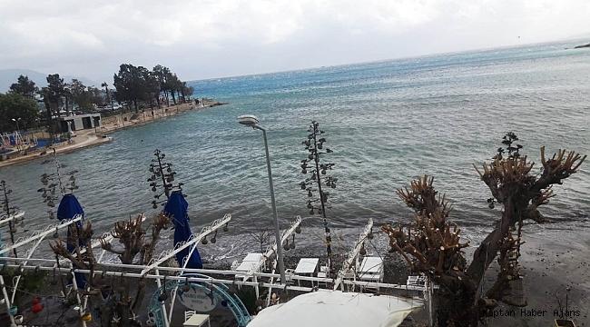 Denize sızan yakıt tamamen temizlendi