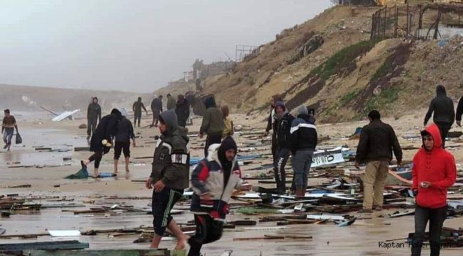 Gazze polisi 6 Mısırlı balıkçıyı kurtardı