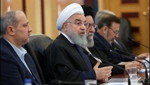 """İran Cumhurbaşkanı Ruhani: ''ABD bizi inzivaya sürüklemeye çalışıyor ancak başaramayacak"""""""