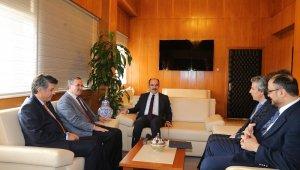 Konya savunma sanayi yönetiminden Başkan Altay'a ziyaret