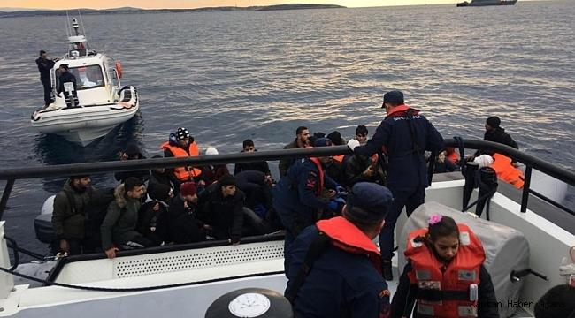 Son 1 haftada denizlerde 497 göçmen yakalandı