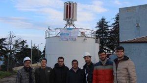 Üniversite öğrencisi genç rüzgar enerjisi üretiminde bir ilki gerçekleştirdi