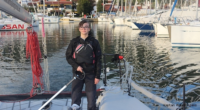 Ada, dünya turu yapan en genç yelkenci olmak için çalışıyor