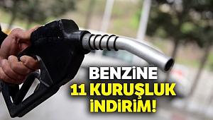 Benzine 11 kuruşluk indirim!