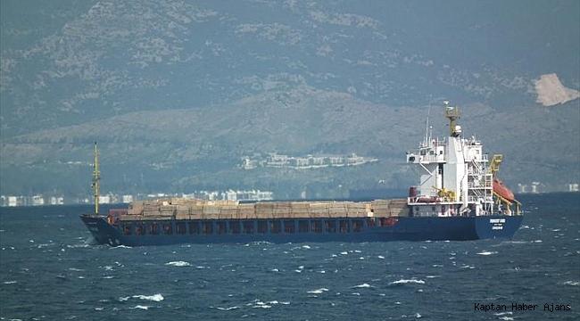 Çanakkale Boğazı'nda kuru yük gemisi motor arızası verdi