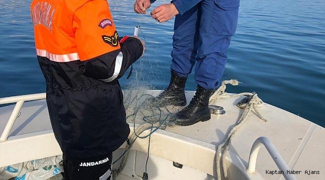 Eğirdir Gölü'nde kaçak avcılık denetimi