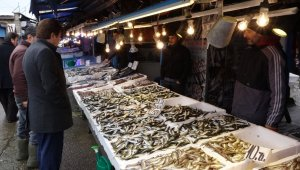 Hafta sonu hamsi almak için balıkçılara giden Trabzonlular hamsi bulamayınca büyük şok yaşadı