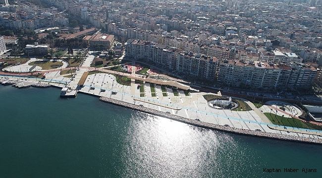 İzmir'in yeni meydanı açılıyor