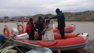 Kayıp balıkçıyı arama çalışmalarına devam edildi